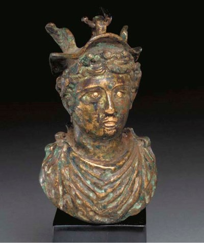 A ROMAN BRONZE WEIGHT