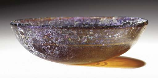 A HELLENISTIC GLASS BOWL