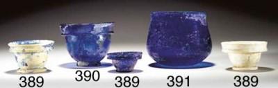 A ROMAN GLASS CUP