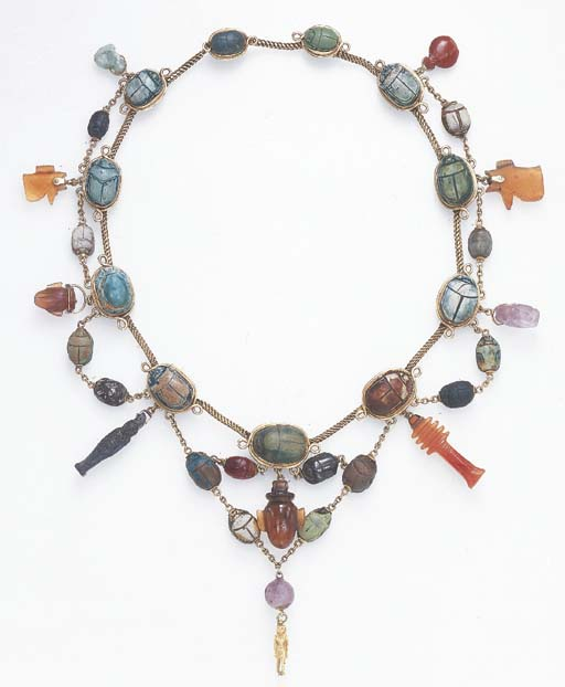 A NECKLACE OF ANCIENT EGYPTIAN