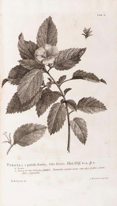LINNAEUS, Carolus. Hortus clif