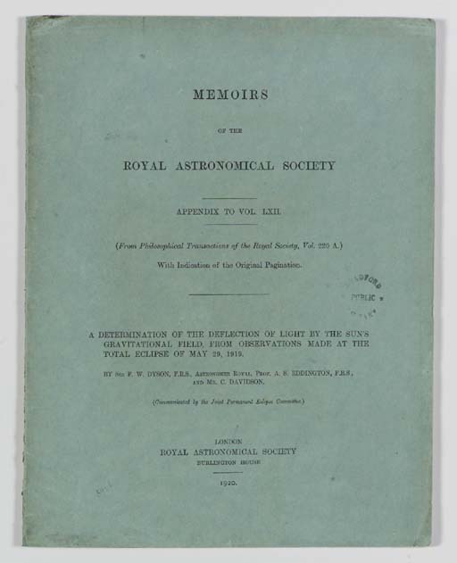EDDINGTON, Arthur S. The Mathe