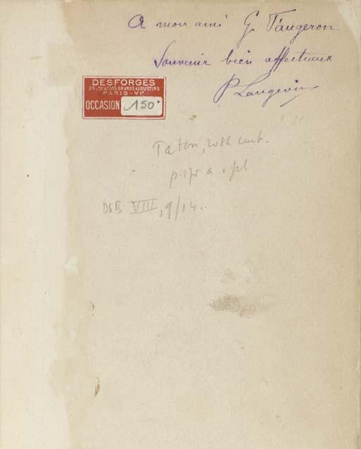 LANGEVIN, Paul (1872-1946). Th