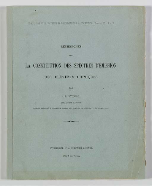 RYDBERG, Johannes Robert (1854