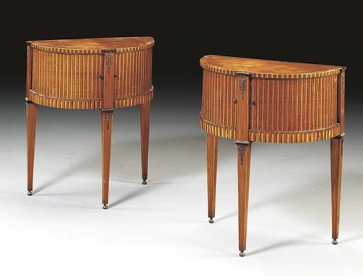 A PAIR OF DUTCH NEOCLASSIC ORM