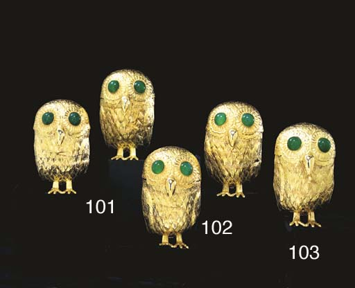 A CONTINENTAL GOLD OWL-FORM CO