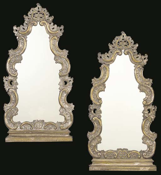 A PAIR OF DUTCH ROCOCO STYLE S