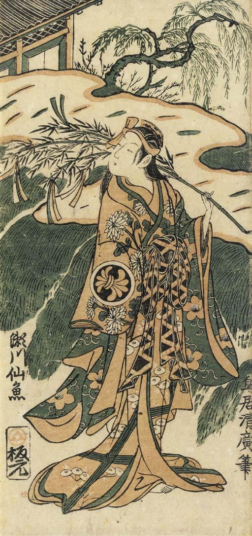 Torii Kiyohiro (act. ca. 1737-1776)
