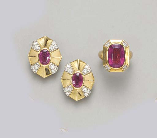 A GROUP OF PINK TOURMALINE AND