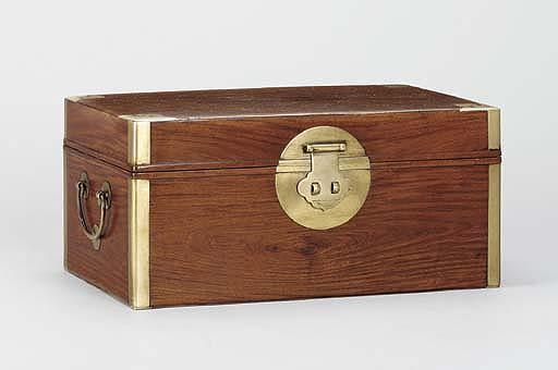 A HUANGHUALI BOX, HE