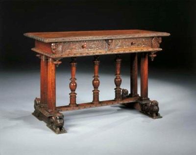 TABLE DU XIXème SIECLE