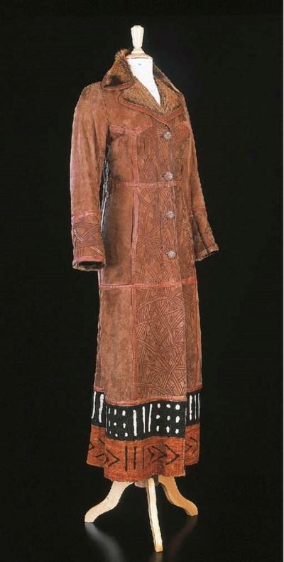 Manteau réversible de couleur
