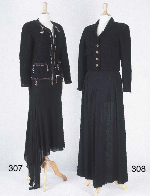 Veste courte sans col en laina