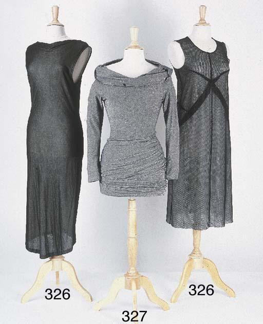Robe longue étroite, en jersey