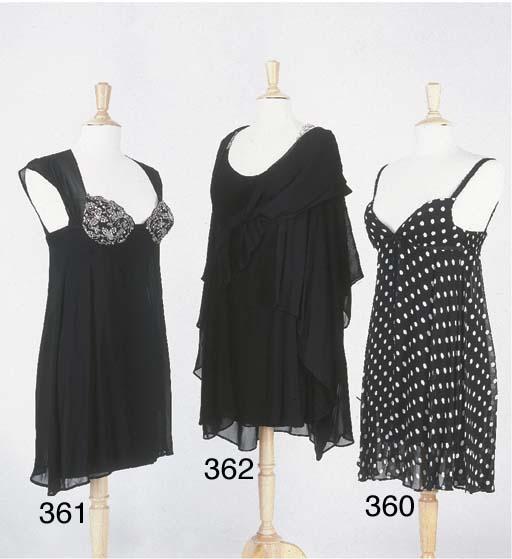 Petite robe noire, en jersey r