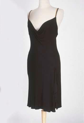 Petite robe en jersey noir, co