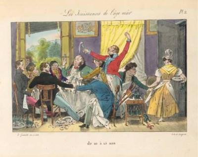 GRANDVILLE (1803-1847). Chaque