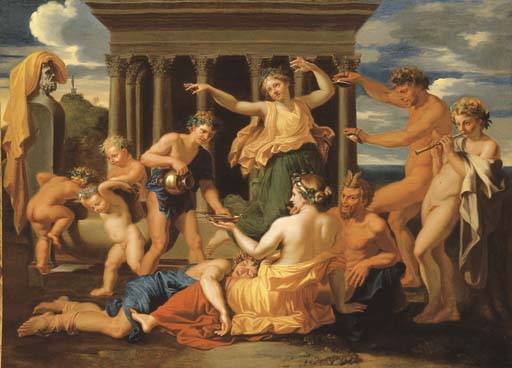 Suiveur de Nicolas Poussin