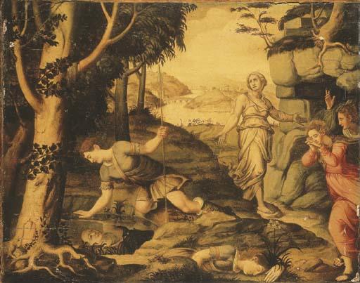 Ecole Italienne, fin du XVIème