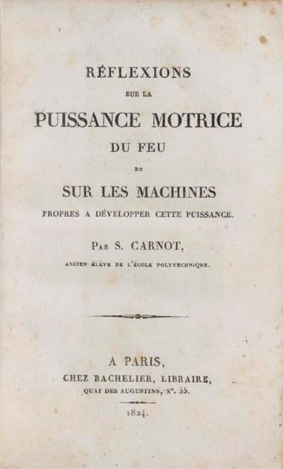 CARNOT, Nicolas Léonard Sadi (