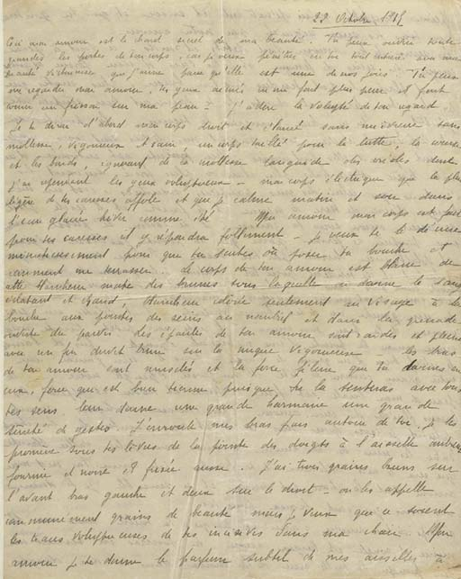 [Guillaume APOLLINAIRE]. Madel