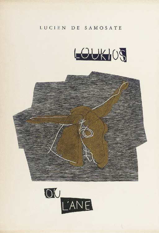 [Henri LAURENS]. Lucien de SAM