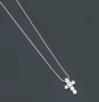 Croce in brillanti