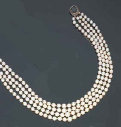 Collana in perle coltivate