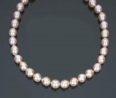 Collana in perle barocche colt