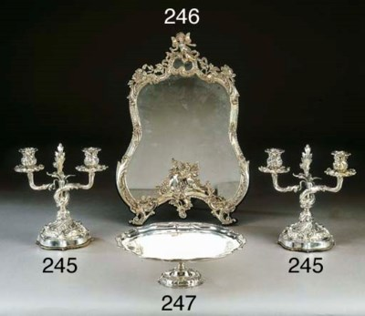 Specchiera in argento