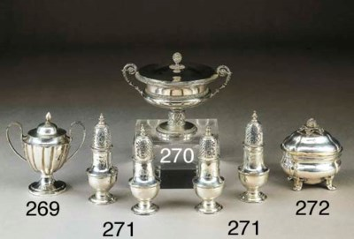 Zuccheriera in argento, Messin
