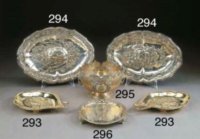 Coppia di legumiere Giorgio II