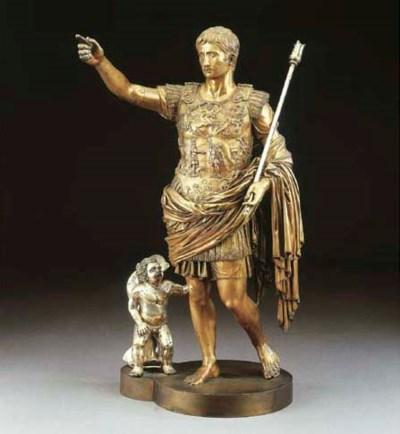 Statua in bronzo raffigurante