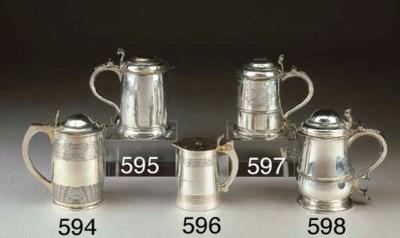 Tankard in argento Giorgio I,