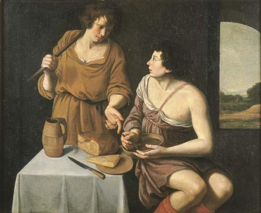 Pittore caravaggesco olandese, prima metà del secolo XVII
