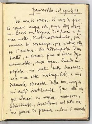 D'ANNUNZIO, Gabriele. Bellissi