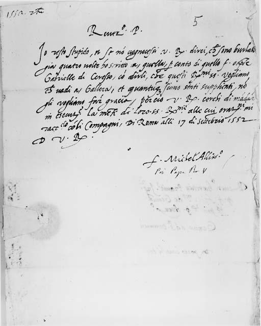 PIO V (al secolo Antonio Miche
