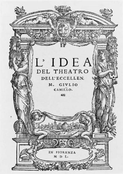 CAMILLO, Giulio. L'idea del th