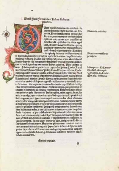 BLONDUS FLAVIUS. Italia illust