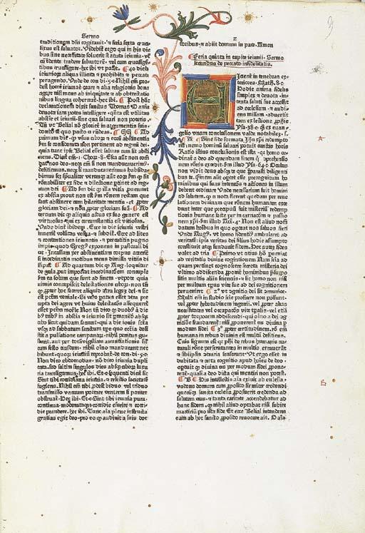 UTINO, Leonardus de. Sermones