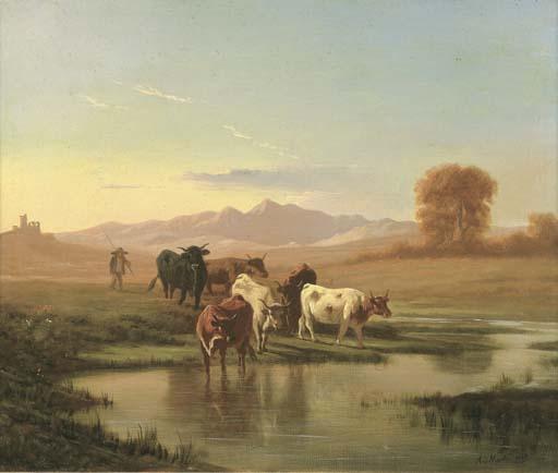 Andrea Markò (Vienna 1824-Vill
