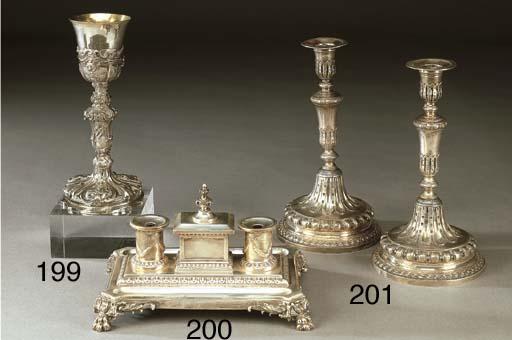Calamaio vittoriano in argento