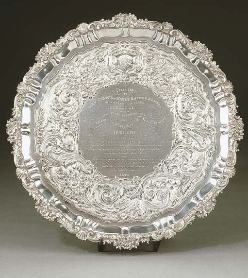 Salver in argento William IV,