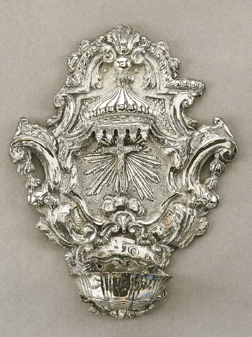 Acquasantiera in argento, Geno