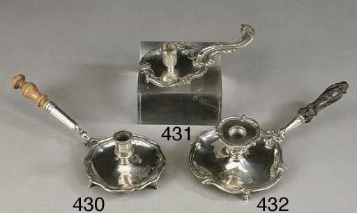 Rara bugia in argento, Genova