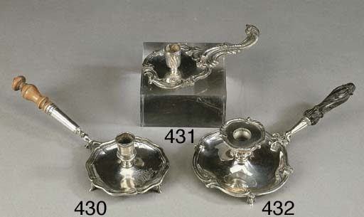 Interessante bugia in argento,