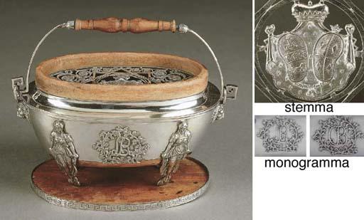 Scaldino in argento, Roma