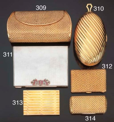 Trousse in argento