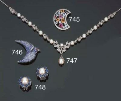 Collana in oro e perle coltiva