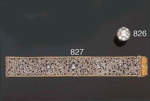Bracciale in diamanti taglio r